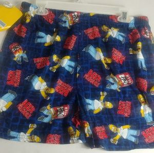 SIMPSON'S DUFF BEER BLUE 20TH CENTURY FOX BOXERS